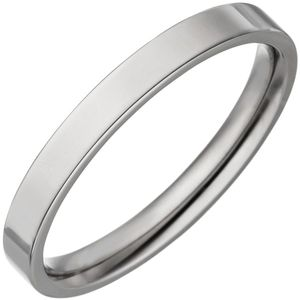JOBO Partner Ring 54mm schmal aus Titan Partnerring Titanring