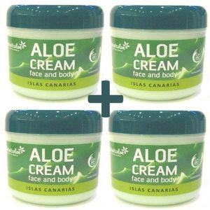 Tabaibaloe ALOE VERA Face & Body Cream  300 ml x 4 Einheiten