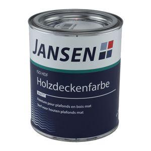 Jansen ISO-HDF Holzdeckenfarbe 2,5 Liter matt