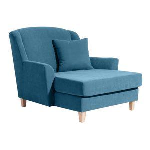Max Winzer Judith Big-Sessel inkl. 1x Zierkissen 55x55cm - Farbe: petrol - Maße: 136 cm x 142 cm x 107 cm; 2891-767-2051717-F01