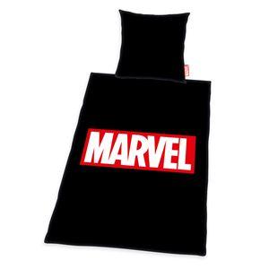 Marvel Marken-Bettwäsche, 80x80cm + 135x200cm