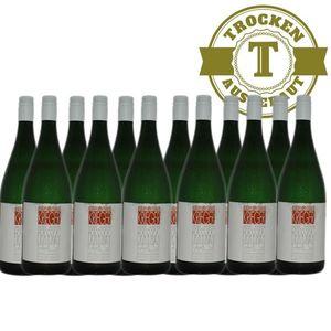 Weißwein Pfalz Müller Thurgau Weingut Krieger Rhodter Ordensgut lieblich  (12 x 1,0l)