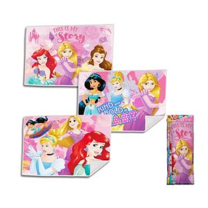 Gästehandtuch 3er Set Prinzessin Polyester - Disney Prinzessin