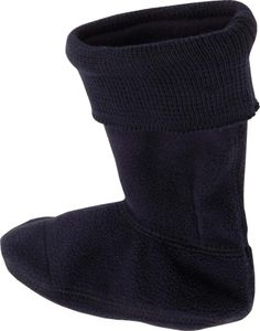 Playshoes Fleece-Stiefel-Socke marine, Größe: 22/23