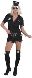 Damen Kostüm Polizistin als Polizei zu Fasching Karneval Gr.34