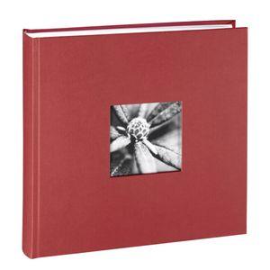 Hama - 2345 Jumbo-Album Fine Art, 30x30 cm, 100 weiße Seiten, Bordeaux