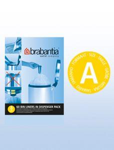 BRABANTIA Müllbeutel Spenderverpackung 3 l (A) 60 Stück