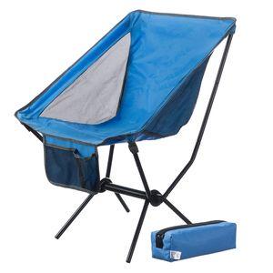Moon Chair Campingstuhl - faltbarer Campinghocker Moonchair - extrem leicht & kompakt - Blau