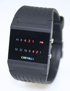 Chevirex Binäre Uhr Model 2 | Armbanduhr | Digital