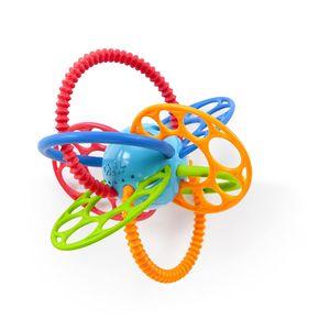 Flexi Loops Greifspielzeug mit Beißringen aus flexiblem, leicht zu greifendem Material mit unterschiedlichen Texturen