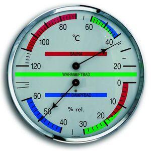 TFA Dostmann Sauna-Thermo-Hygrometer Klimamesser