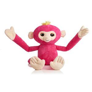WowWee Fingerlings Hugs Pink, Spieltiere, Pink, Plüsch, 2 Jahr(e), Affe, Junge/Mädchen