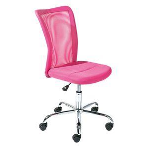 Drehstuhl Kinderstuhl Bürostuhl Bonnie pink Meshbezug höhenverstellbar