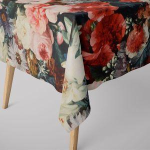 SCHÖNER LEBEN. Tischdecke Rosen Blumenbouquet verschiedene Größen, Tischdecken Größe:130x200cm