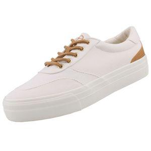 TAMARIS Damen Plateau Sneakers Weiß, Schuhgröße:EUR 39