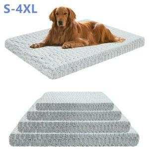 WISFOR Hundebett Orthopädisch XL Hundekissen Hundematte Katzenbett - Bezug abnehmbar & waschbar,110x85x10cm