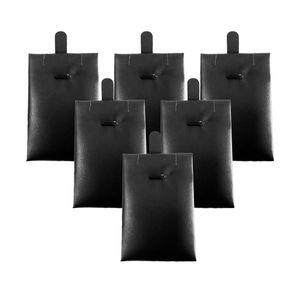 6x Schmuckständer Schmuckhalter Ohringhalter Displayständer, 7,7 x 5,2 cm Farbe Schwarz