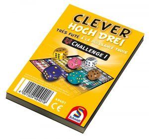 1 Schmidt Spiele Zusatzblock Clever hoch Drei! Challenge I 49401
