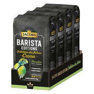 JACOBS Kaffeebohnen Barista Editions Selektion des Jahres Brasilien 4 x 1 kg