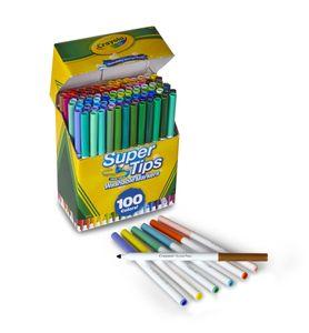 Crayola 58-5100, 100 Farben, Mehrfarbig, Rund, Italien, 3 Jahr(e), Junge/Mädchen