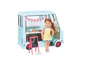 Our Generation - Eiscreme Set für Puppe 46 cm