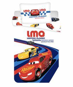 Disney Cars McQueen Baby Kleinkind Bettwäsche Set 100x135 40x60cm