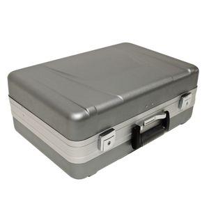 Werkzeugkoffer ABS Hartschalenkoffer Werkzeugkiste Koffer abschließbar Einteiler