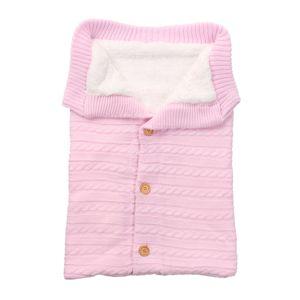 Meco Babydecke Einschlagdecke Babyschale Winterfußsack Schlafsack Pucksack Wickeldeck -Rosa