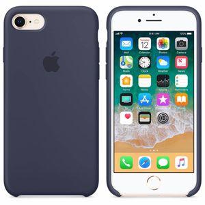 Apple iPhone 8 / 7 Silikon Case, mitternachtsblau
