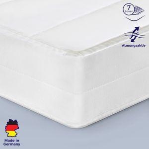 140x220 Hochwertige Kaltschaum-Matratze H3 für einen erholsamen Schlaf, hergestellt in Deutschland - Kaltschaummatratze in allen Größen
