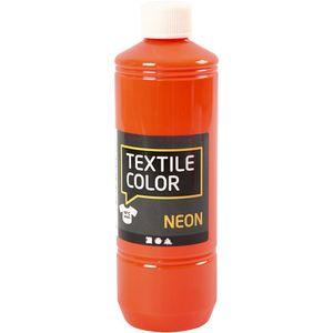 Creotime textilfarbe 500 ml Neonorange