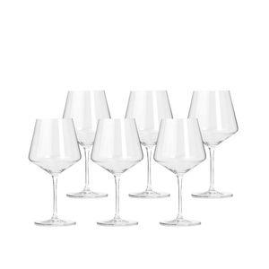 LEONARDO 069555 Puccini Burgunderkelch Glas, 730ml, H 23cm, klar (6 Stück)