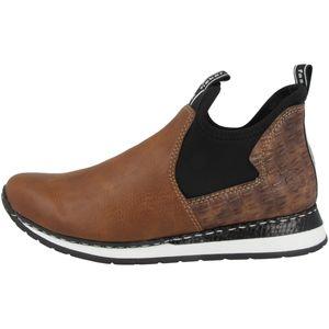 Rieker Damen Schuhe Stiefeletten Keilabsatz X3063, Größe:38 EU, Farbe:Braun