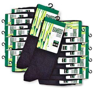 20 Paar Premium Bambus -Viskose Socken gegen Schweiß, Bambussocke, 38-42