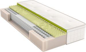 Schlaraffia Air-Boxspring 7-Zonen Doppel-Taschenfederkern-Matratze & Topper, Härtegrad:H4, Größe:160x210 cm (Sondergröße)