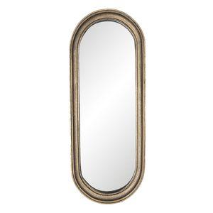 Clayre & Eef Wandspiegel 62S180 15*2*41 cm - Braun Polyresin / Glas Spiegel Groß Schminkspiegel Badspiegel