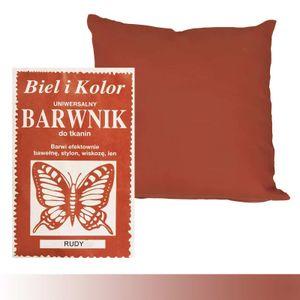 10g Batikfarbe Textilfarbe Stofffarbe färben, Farbe wählbar aus 30 Nuancen, Farbe:ziegelrot
