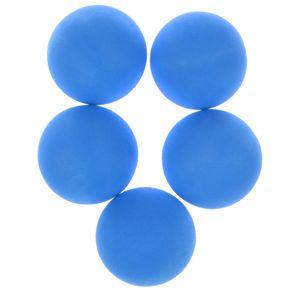 5St. Flummi Springball Bouncing Ball Dopsball Pets Hund Katze Spielzeug Blau Bälle wie beschrieben