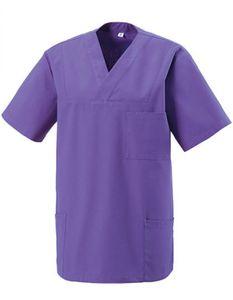 Schlupfkasack - Bügelleicht- und Softausstattung - Farbe: Purple - Größe: XL