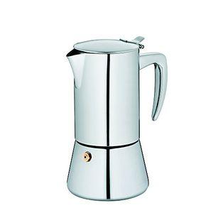 Kela Espressokanne Latina Edelstahl 18/10 17cm 9,5cmØ 200ml, 10835