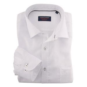 XXL CasaModa Langarmhemd weiß bügelfrei , Kragenweite:44