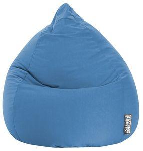 Sitzsack BeanBag Easy XL 110 x 70 cm,  Blau