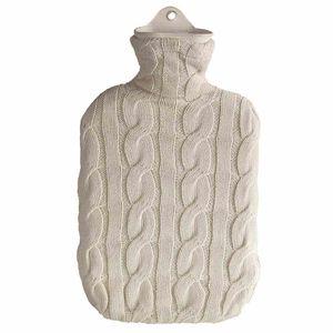 Sänger 165-50 Wärmflasche 2,0L Strickbezug Baumwolle, natur