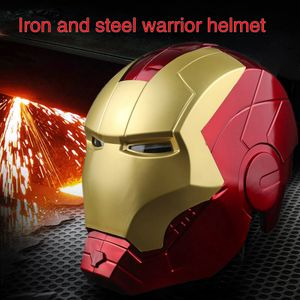 Iron Man Elektronischer Helm LED Lumineszenz Cosplay Sicherheitshelme mit Licht
