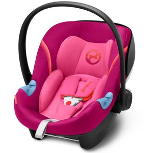 Cybex Aton M i-Size Babyschale, Modell 2018 Passion Pink