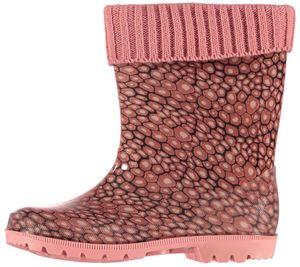 XQ Footwear regenstiefel Junior Gummi rosa