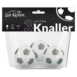 Live Kicker 49003 Live Kicker Ersatzbälle 3 Latten