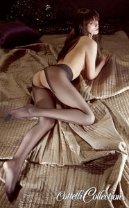 Cottelli Collection Stockings & Hosiery Strumpfhose im Schritt offen