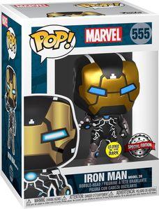 Marvel - Iron Man 555 Special Edition Glows in the Dark - Funko Pop! - Vinyl Figur