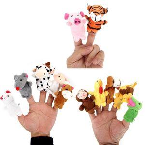 Baby Fingerpuppen-Set Familie zum Spielen und Lernen, Modell:Tiere